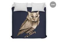 Owligami - duvet-cover - small view