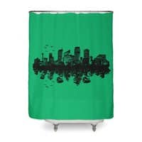 Stone Jungle - shower-curtain - small view