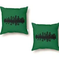 Stone Jungle - throw-pillow - small view
