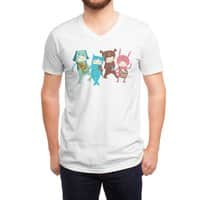 The Musicians - vneck - small view