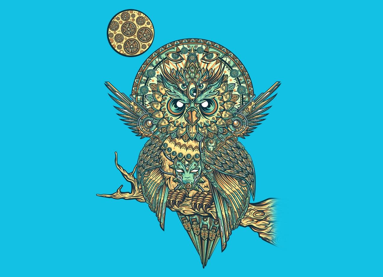 God Owl Of Dreams By Juan Manuel Orozco Threadless