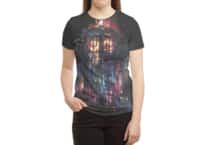 All of Time and Space - womens-sublimated-triblend-tee - small view