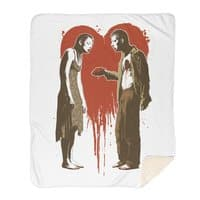 Zombie Romance - blanket - small view