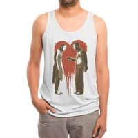 Zombie Romance - mens-triblend-tank - small view