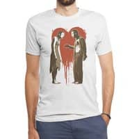 Zombie Romance - mens-triblend-tee - small view