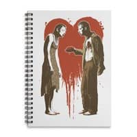 Zombie Romance - spiral-notebook - small view