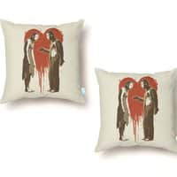 Zombie Romance - throw-pillow - small view