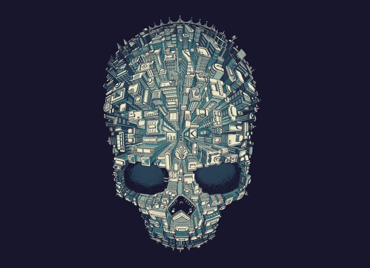 Welcome To Skull City By Wagner Nogueira Lima Threadless