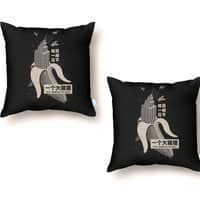The Eighth Wonder - throw-pillow - small view