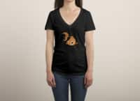 Goldfish - womens-deep-v-neck - small view
