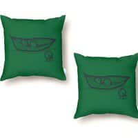 Chick Peas - throw-pillow - small view