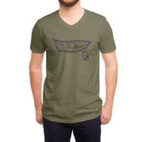 Chick Peas - vneck - small view