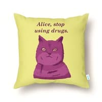 Stop, Please! - throw-pillow - small view