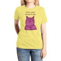 Stop, Please! - womens-extra-soft-tee - small view