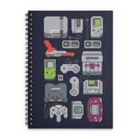 A Pixel of My Childhood - spiral-notebook - small view