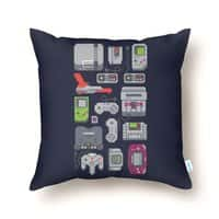 A Pixel of My Childhood - throw-pillow - small view