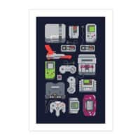 A Pixel of My Childhood - vertical-print - small view