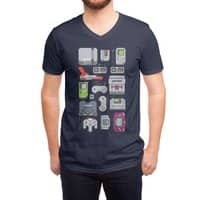 A Pixel of My Childhood - vneck - small view