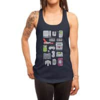 A Pixel of My Childhood - womens-racerback-tank - small view