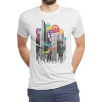 City of Monster - mens-triblend-tee - small view