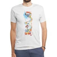 Follow the Unicorn - mens-triblend-tee - small view