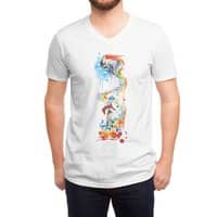 Follow the Unicorn - vneck - small view