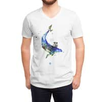 Whale - vneck - small view