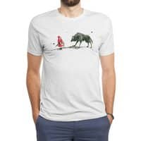Red Riding Hood - mens-triblend-tee - small view