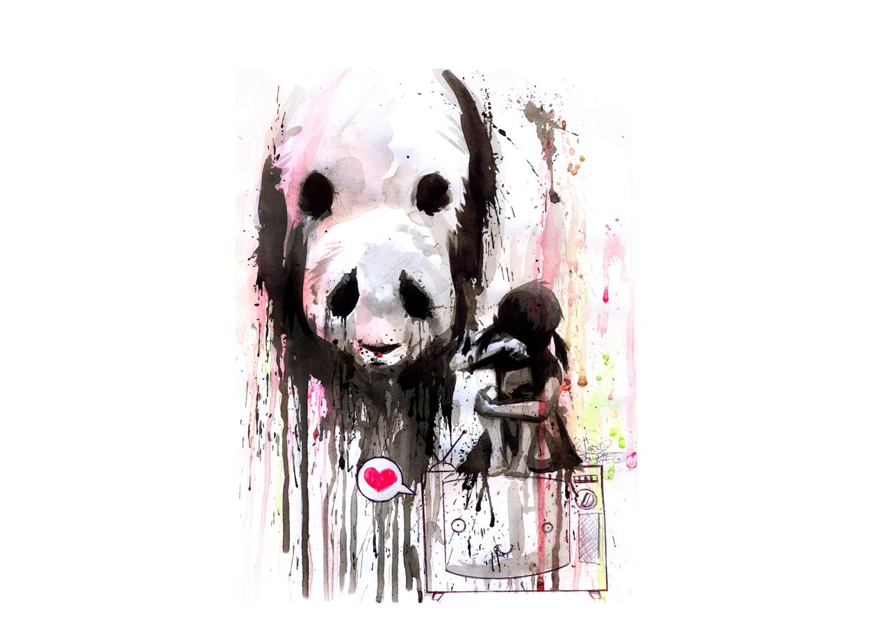 Panda By Lora Zombie