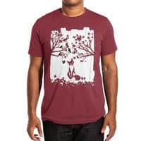 The Lonely Fox - mens-extra-soft-tee - small view
