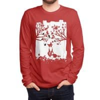 The Lonely Fox - mens-long-sleeve-tee - small view