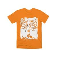 The Lonely Fox - mens-premium-tee - small view