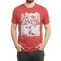 The Lonely Fox - mens-triblend-tee - small view
