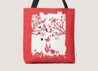 The Lonely Fox - tote-bag - small view
