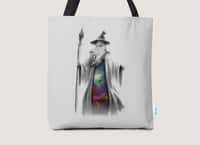 The Grey Wizard - tote-bag - small view