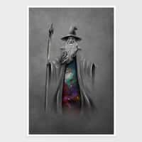 The Grey Wizard - vertical-print - small view