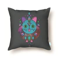 Space Kitty - throw-pillow - small view