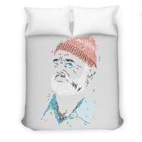 Zissou of Fish - duvet-cover - small view