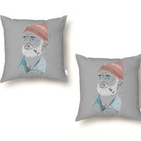 Zissou of Fish - throw-pillow - small view