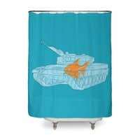 Fish Tank - shower-curtain - small view