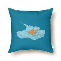 Fish Tank - throw-pillow - small view