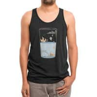 Pessimistic or Optimistic? - mens-triblend-tank - small view