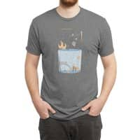 Pessimistic or Optimistic? - mens-triblend-tee - small view