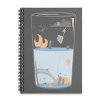 Pessimistic or Optimistic? - spiral-notebook - small view
