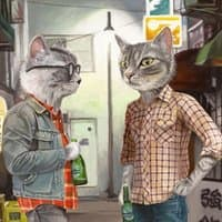 A Cats Night Out - small view