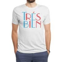 Tres Bien - mens-triblend-tee - small view