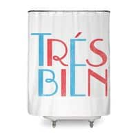Tres Bien - shower-curtain - small view