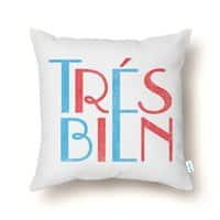 Tres Bien - throw-pillow - small view
