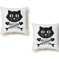 Kill all the Fish - throw-pillow - small view