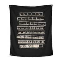 Z Movie - indoor-wall-tapestry-vertical - small view